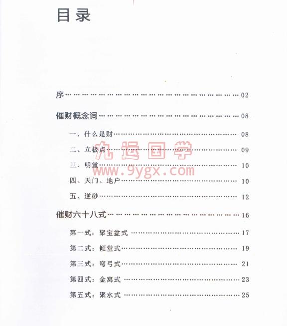 风水杨公形势理论催财68式电子书下载插图1