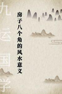 易经风水布局秘笈之《房子八个角的风水意义》电子书下载插图