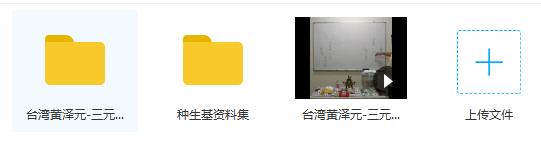 黄泽元台湾阴宅风水三元造生基大法录像+讲义+种生基风水资料10种插图