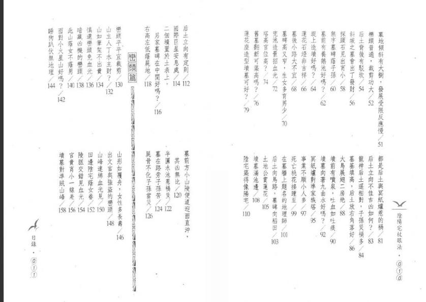 阴阳宅杖眼法·凌德修-风水学书籍电子书下载插图1