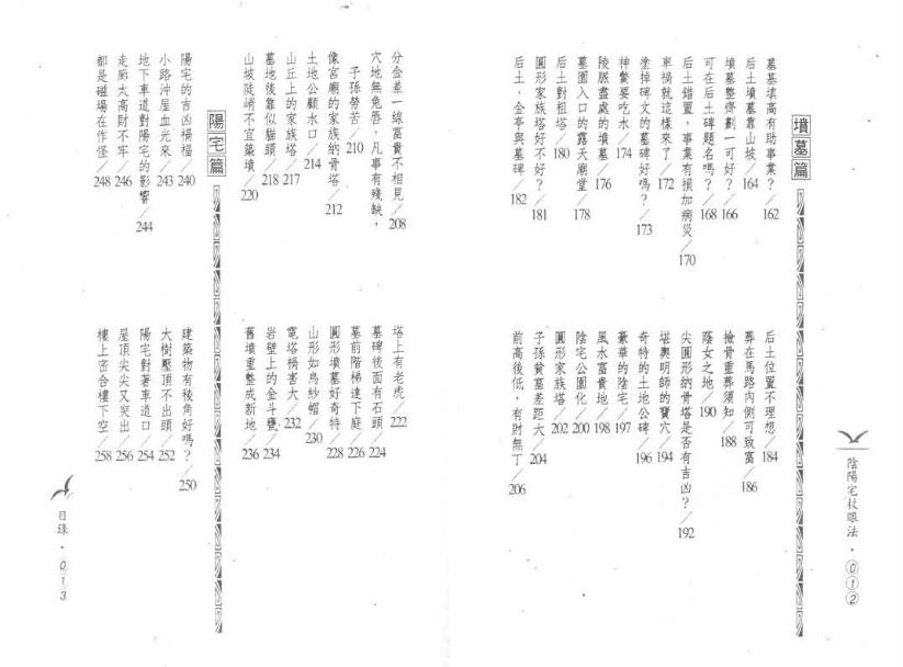 阴阳宅杖眼法·凌德修-风水学书籍电子书下载插图2