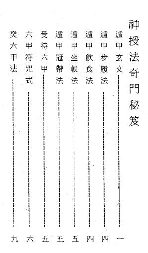 神授法奇门秘笈-古籍电子书下载插图