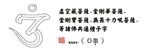 学习佛菩萨梵文种子字(附书写笔画顺序)插图