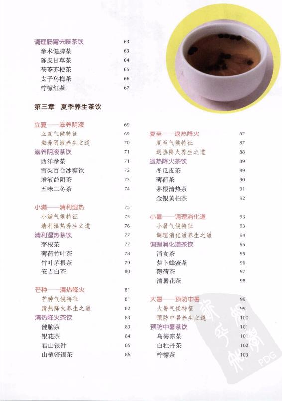 四季养生茶饮-电子书下载插图2