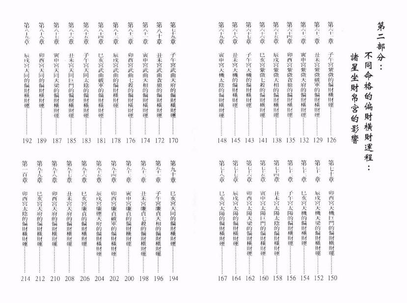 谢天诠 《紫微斗数偏财横财运程》电子书下载插图3
