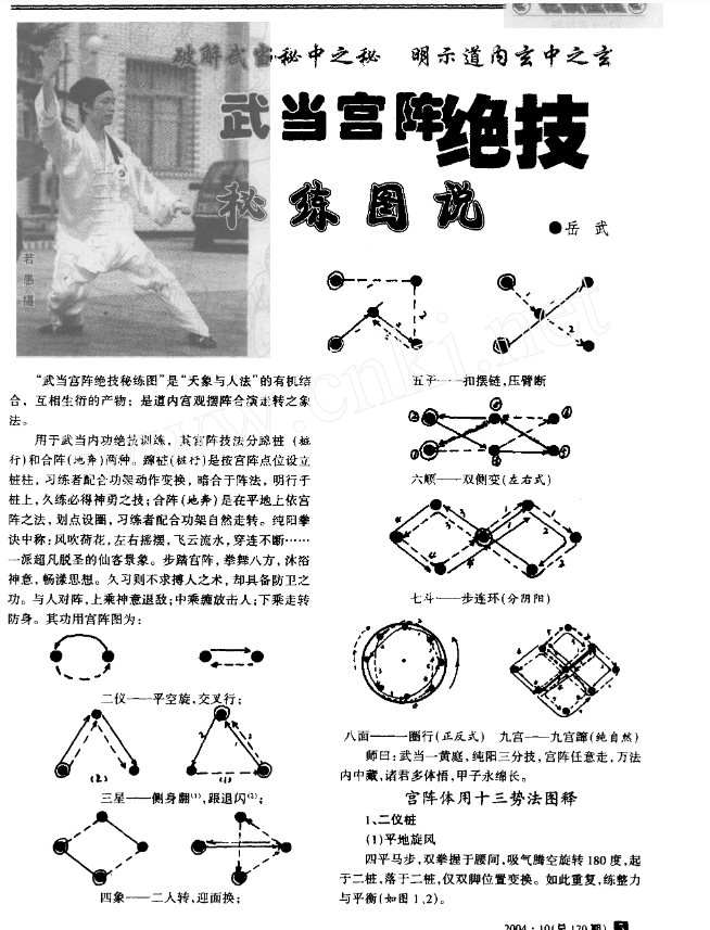 [武当宫阵绝技秘练图说].岳武.扫描版-电子书下载插图