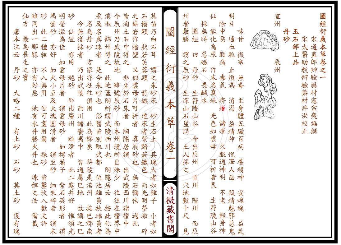 正宗道藏圖經衍義本草全套-电子书下载插图1