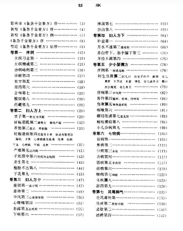 孙思邈千金方PDF电子书下载无水印插图1