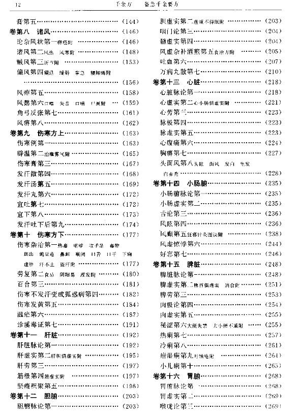 孙思邈千金方PDF电子书下载无水印插图2