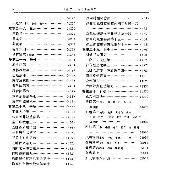 孙思邈千金方PDF电子书下载无水印插图4